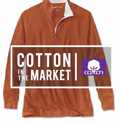 Cotton in the market - Orvis Expands