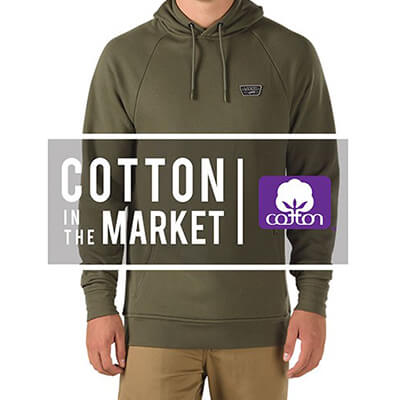 Cotton in the market - vans