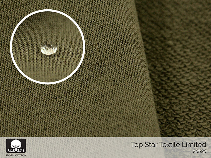 STORM COTTON Water repellent finish