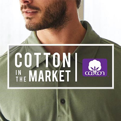 Mack Weldon cotton polo with TransDRY® moisture management technology