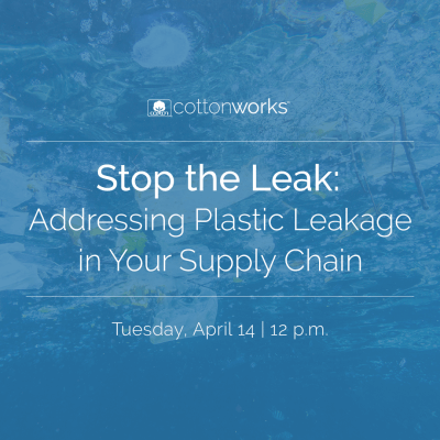 Stop the Leak: Addressing Plastic Leakage in Your Supply Chain | Tuesday, April 14 at 12 p.m.