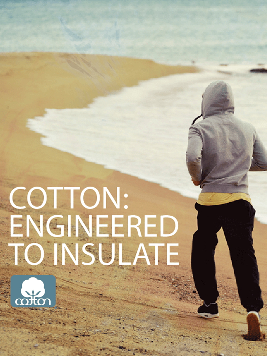 Cotton Engineered to Insulate