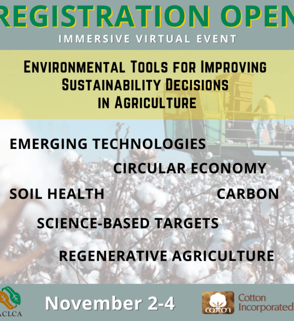 Save the Date: Environmental Tools for Improving Sustainability Decisions in Agriculture